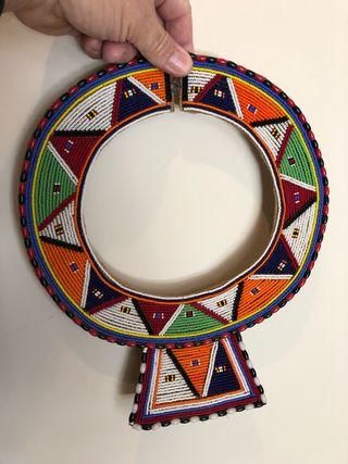 Collar ritual africano
