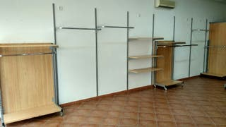 Mobiliario de tienda de ropa