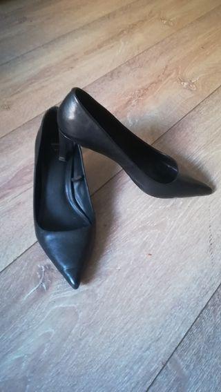 zapatos negros Mango talla 41