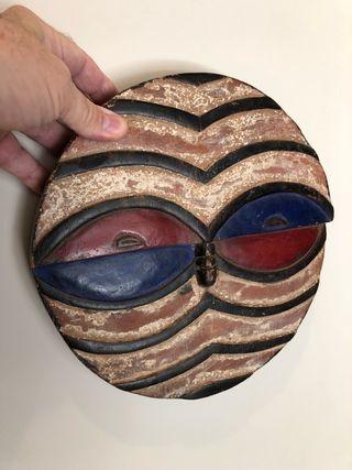 Máscara ritual africana