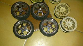 ruedas radiocontrol RC