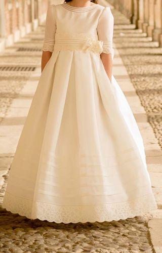 mejor venta imágenes oficiales elegante en estilo Vestido comunión Rosa Clara de segunda mano en la provincia ...