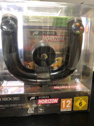 Forza horizon y mando carreras Xbox