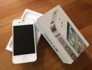 IPhone 4s libre con todo