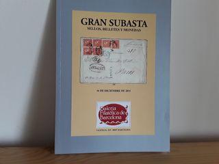 Catálogo subasta de sellos 2011