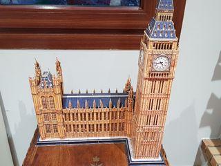 Puzzle 3D Big Ben. Marca CubicFun.