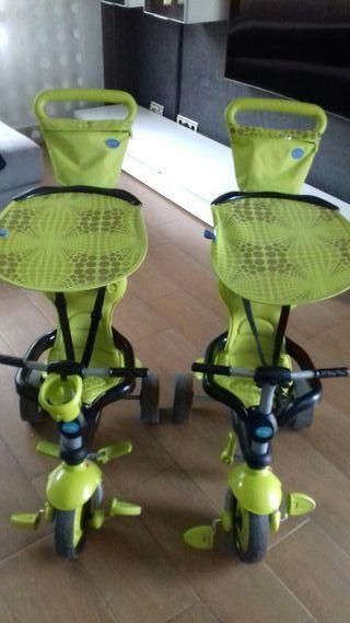 2 Triciclos con pedales muy completos
