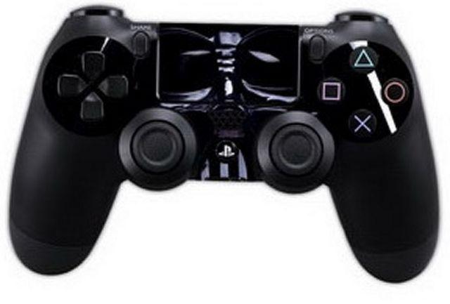 PS4 Vinilo personalizado Darth Vader NUEVO
