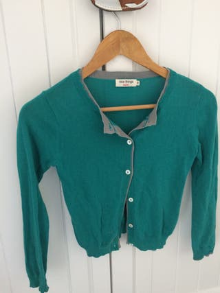 Jersey chandail verde t 8 años