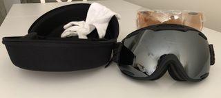 Gafas ventisca CAS-CO Snow Pilot dos lentes