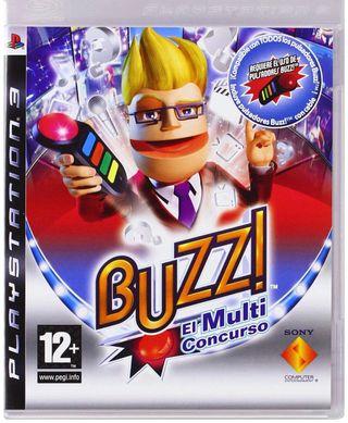 Vendo BUZZ el Megaconcurso Ps3