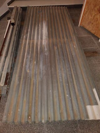 Chapas galvanizadas para techo