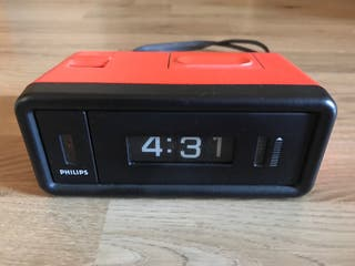 Reloj despertador Philips. Vintage