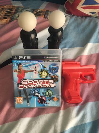 Mandos Move Playstation 3