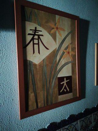 cuadro grande japonés