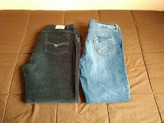 Lote 2 Pantalones mujer nuevos 10 euros