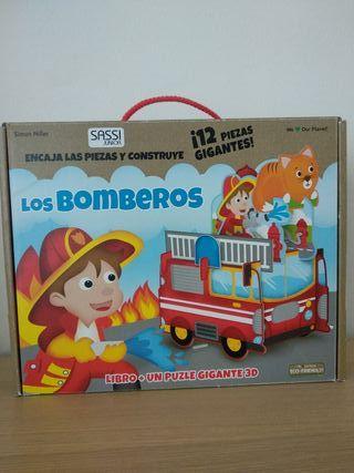 libro- puzzle bomberos