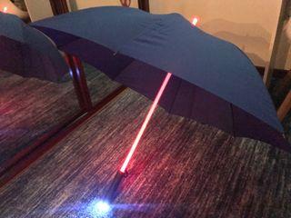 Paraguas LUZ LED Exclusivo Regalo Navidad