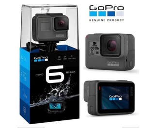 GoPro Hero 6 black, por comprar la 7
