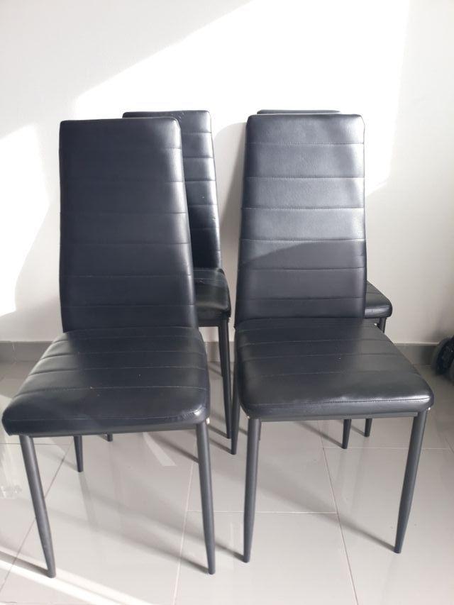 4 sillas comedor. precio por TODAS de segunda mano por 30 € en ...