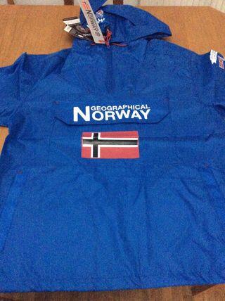 Cazadora Impermeable Norway Original (nuevo)