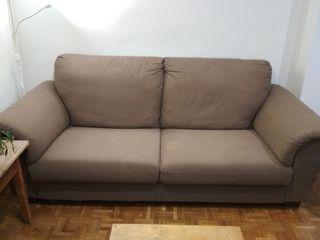 Sofá de tres plazas de Ikea