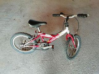 Bicicleta infantil de montaña