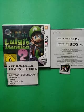 Luigi,s Mansion 2 Nintendo 3DS PAL