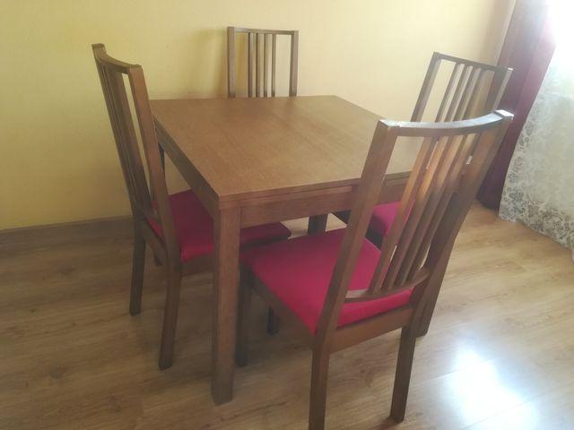 Mesa comedor Ikea + 4 sillas a juego. de segunda mano por 185 € en ...