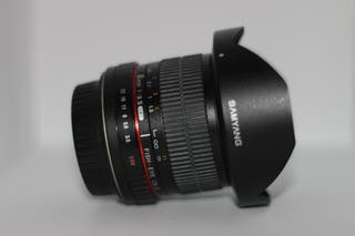 SAMYANG 8mm para Canon