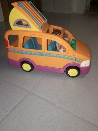 auto caravana Dora exploradora