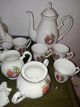 vajilla de porcelana española