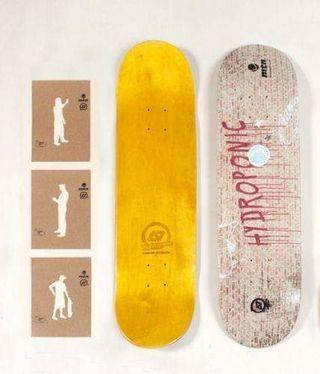 "Tabla de Skateboard Montana x Hydroponic 8"" Skate"