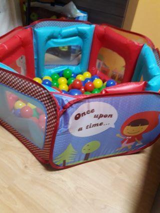 piscina de bolas imaginarium