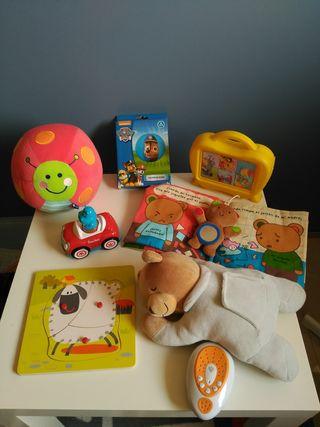 Lote juguetes bebe 4
