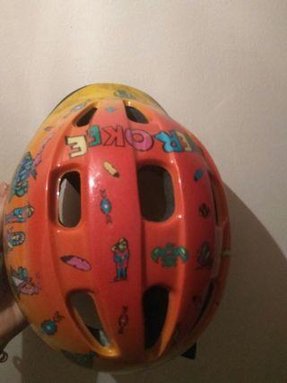 casco bicicleta niño/niña