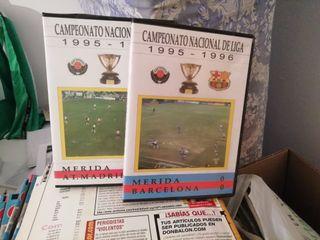 videos 1995- 1996 del Merida.