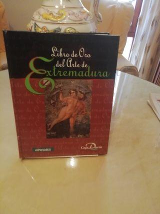 libro oro del arte en Extremadura