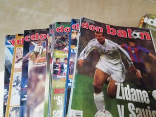 revistas don balon años 2002 2003 2004