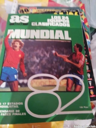 Mundial 82. guía especial Diario as.