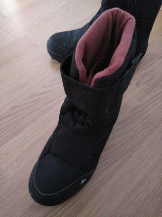 botas pre esqui nieve, decathlon