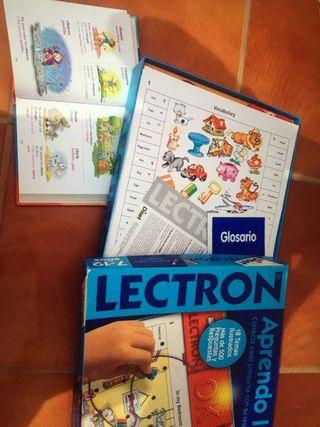 Juego Electrón + diccionario inglés