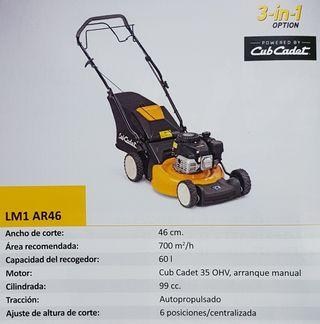 Cortacesped CUB CADET LM1 AR46