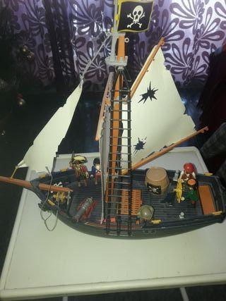 barco pirata de playmovil