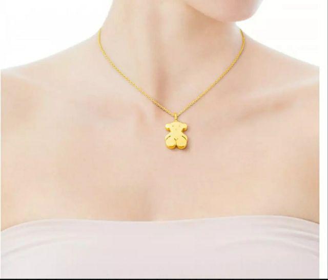 b16e8d5210f0 Colgante TOUS Sweet Dolls en oro amarillo de 18kt de segunda mano ...