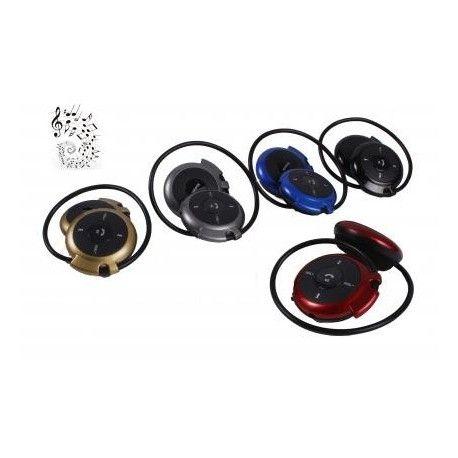 Cascos HEADSET con bluetooth y SD, TF, USB, micro,