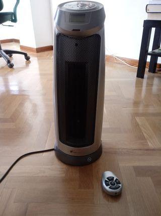 Calefactor cerámico con termostato