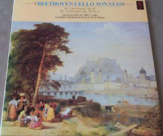 Disco vinilo Beethoven.