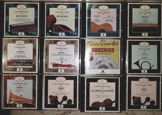 12 CDs música clásica