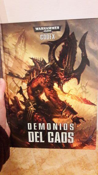 Warhammer 40k codex demonios